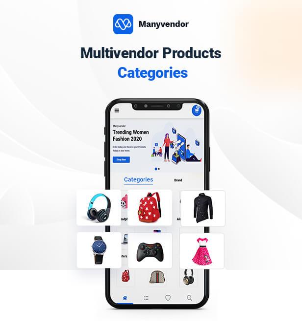 Manyvendor Multivendor Flutter App - 4